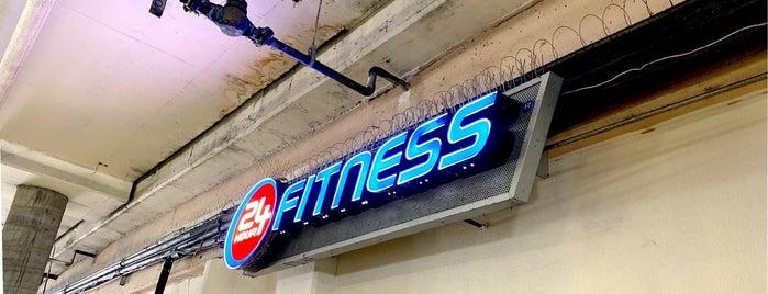 24 Hour Fitness is one of สถานที่ที่ Michael ถูกใจ.