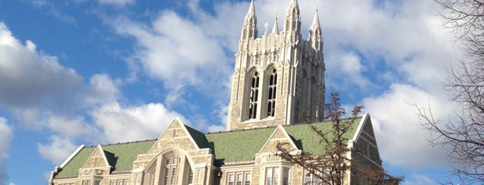 Boston College is one of How to love school ?.