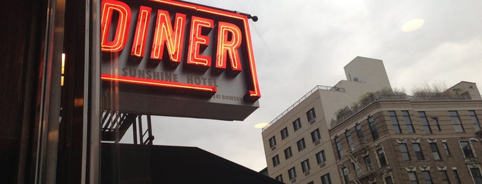 The Bowery Diner is one of NEW YORK.