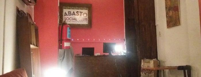 Teatro Abasto Social Club is one of Teatros y recorrida.