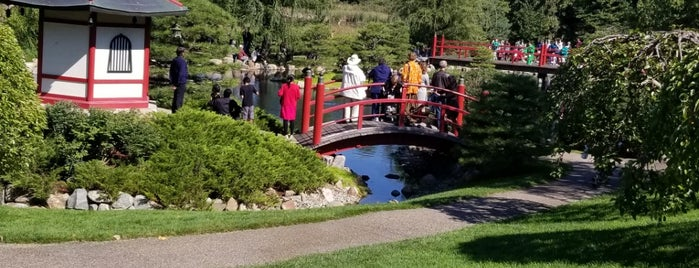 Normandale Japanese garden is one of A Collection of MN.