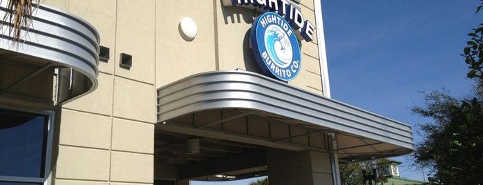 Hightide Burrito Co. is one of Sara Grace'nin Beğendiği Mekanlar.