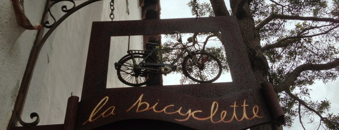 La Bicyclette is one of Carmel.