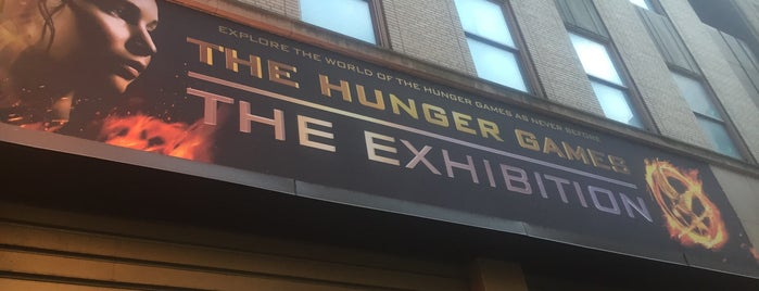 Hunger Games @ Discovery Times Square is one of United States.