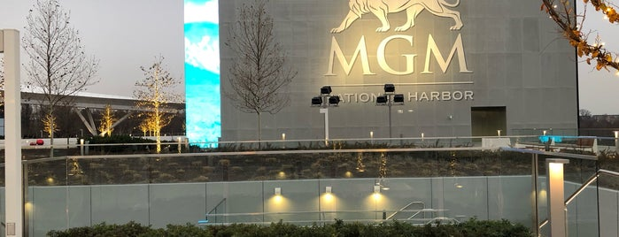 MGM National Harbor is one of Lieux qui ont plu à Dawn.
