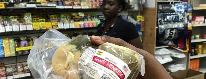 Afro-Caribbean Groceries & Convenience Store is one of Orte, die Dawn gefallen.