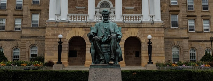 Abe Lincoln Statue is one of In Wisconsin.
