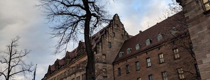 Justizpalast is one of Nürnberg, Deutschland (Nuremberg, Germany).