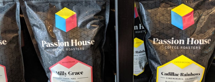 Passion House Coffee Roasters is one of Lieux sauvegardés par Andy.