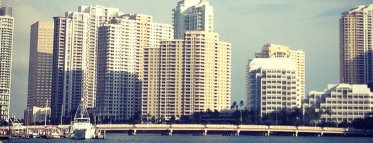 Brickell Bay Boardwalk is one of Tempat yang Disukai Patty.