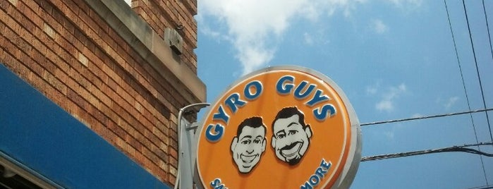 Gyro Guys is one of Lugares guardados de Colleen.