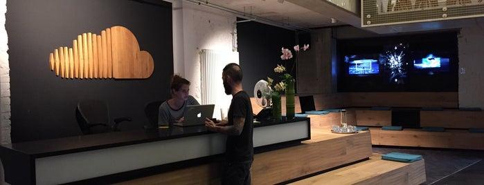 SoundCloud HQ is one of 4sq365de (1/2).