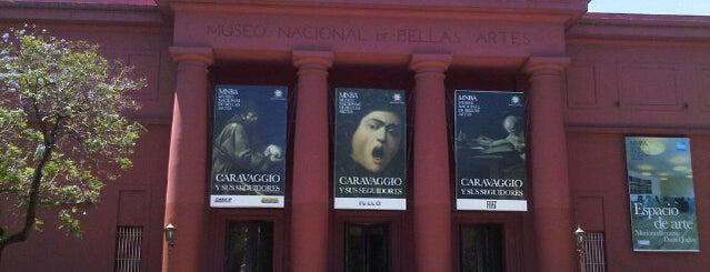Museo Nacional de Bellas Artes is one of Lugares que fui.