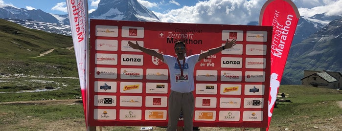Gornergrat Zermatt marathon is one of สถานที่ที่ David ถูกใจ.