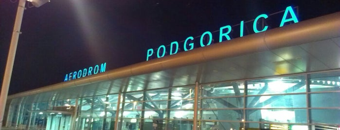 Podgorica Havalimanı (TGD) is one of Airports Europe.
