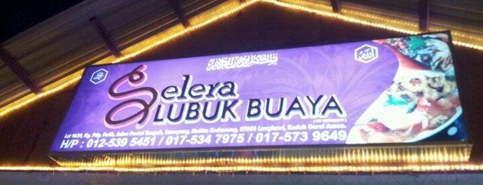 Selera Lubuk Buaya is one of Langkawi.