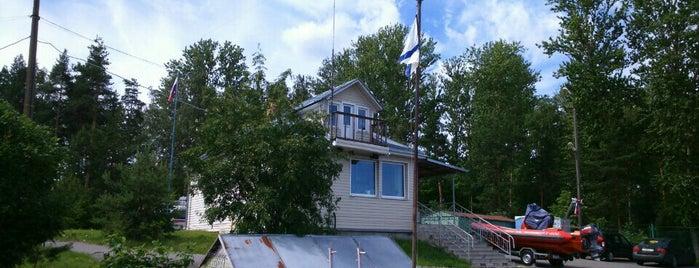 спасательная станция # 30 is one of Serg: сохраненные места.