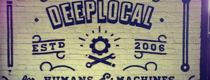 Deeplocal is one of Lieux qui ont plu à Alex.