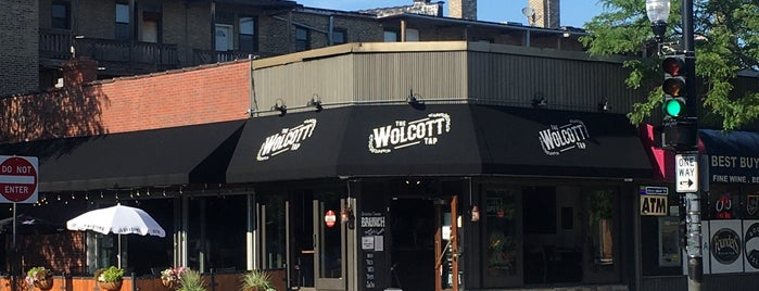 The Wolcott Tap is one of Posti che sono piaciuti a Bill.