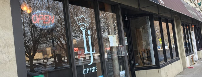 Lizzy J Cafe is one of Restaurants to try.