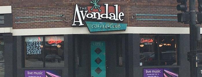 Avondale Coffee Club is one of Orte, die Donna gefallen.