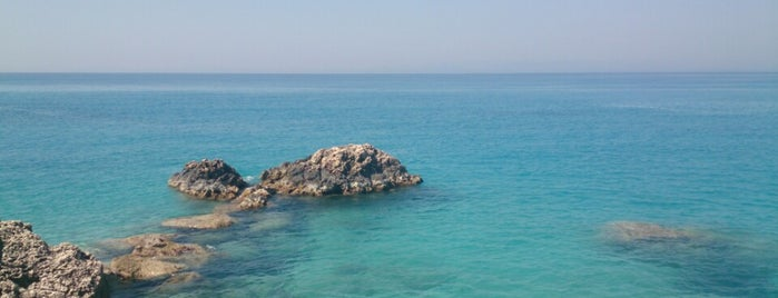 Agios Nikitas Beach is one of Orte, die Spiridoula gefallen.