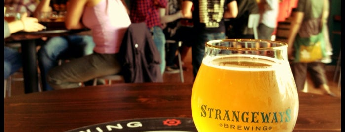 Strangeways Brewing is one of Orte, die Rachel gefallen.