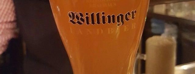 Willinger Brauhaus is one of Hotspots Hessen | Bier.
