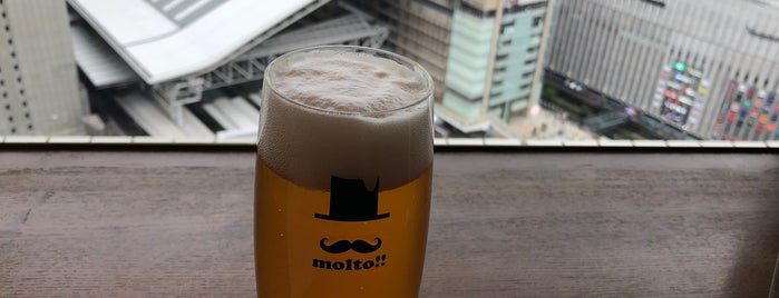 Craft Beer House molto!! 梅田店 is one of Japan.