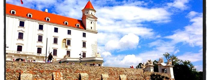 Bratislavský hrad is one of visit again.