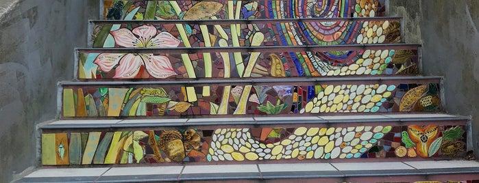 Hidden Garden Mosaic Steps is one of City: San Fracisco, CA.