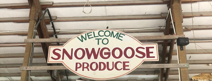 Snowgoose Produce is one of Been There, Done That.