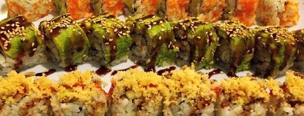 Kazoku Sushi is one of สถานที่ที่ Robin ถูกใจ.