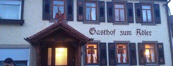 Gasthof Adler is one of Landgasthöfe.