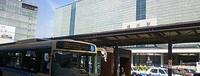 横浜駅のバス停・バスターミナル