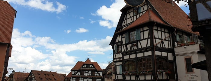Dambach-la-Ville is one of (Temp) Best of Alsace.