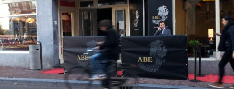 ABE club & lounge is one of amsterdam.