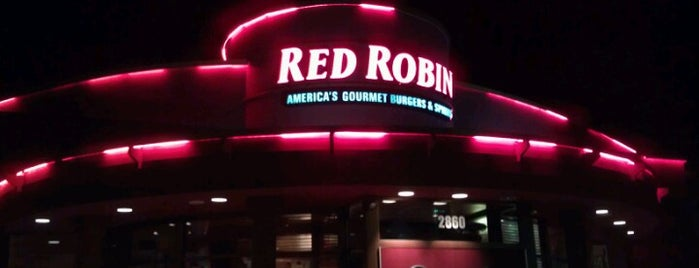 Red Robin Gourmet Burgers and Brews is one of All-time favorites in United States.