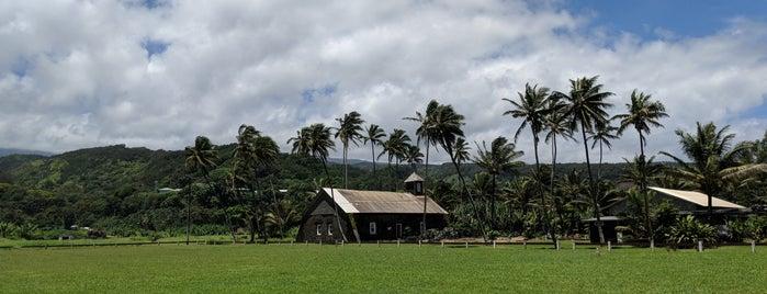 Ke'anae Congregational Church is one of Maui.