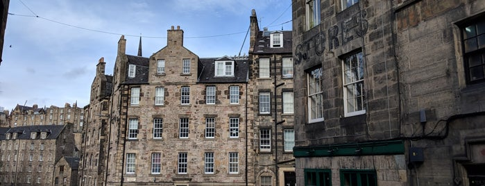 Candlemaker Row is one of Harry Potter sights.