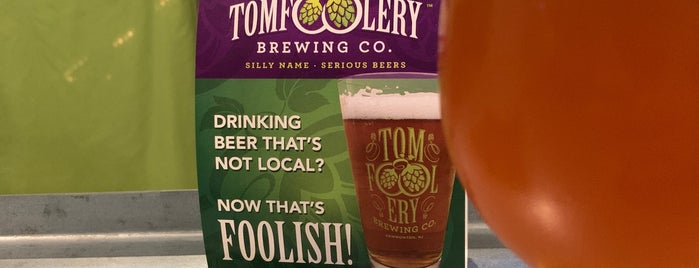 Tomfoolery Brewing Co is one of New Jersey Breweries.