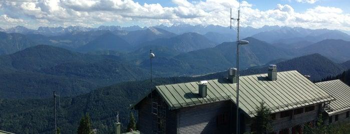 Brauneck Gipfel is one of Ivan'ın Beğendiği Mekanlar.