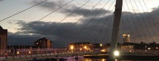 Sail Bridge is one of Swansea.