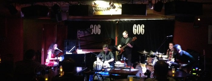 606 Club is one of Blue Note ( Worldwide ).