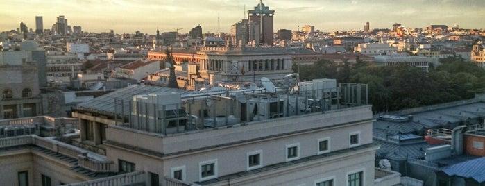 The Balcony (Hotel Suecia) is one of Madrid.