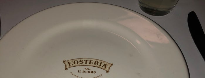 L'osteria is one of Locais curtidos por Jhalyv.