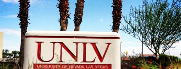 University of Nevada Las Vegas (UNLV) is one of Vegas.
