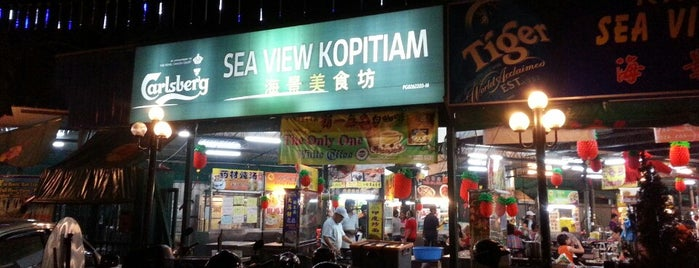 Sea View Food Court is one of Tempat yang Disukai Alyssa.