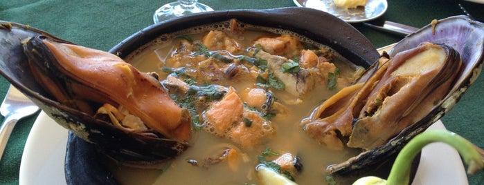 Restaurant Polo Sur is one of Locais salvos de Magdalena.