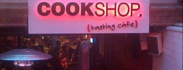 Cookshop is one of Istanbul March.